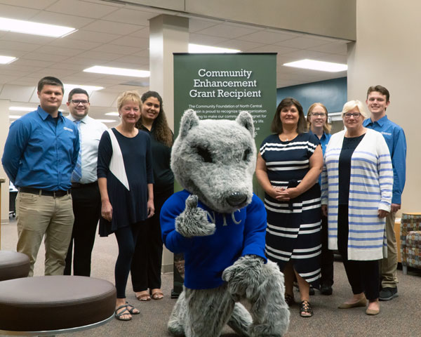 Grand Opening of Timberwolf Learning Commons